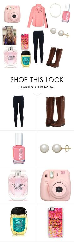 """News Years Eve 🎄❤"" by everythingedwards22 ❤ liked on Polyvore featuring NIKE, Victoria's Secret, Frye, Essie, Honora, Fujifilm, Casetify and Belpearl"