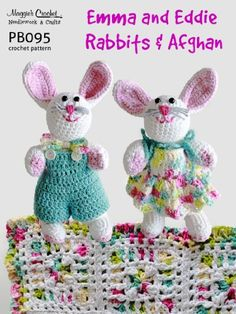 29 Easter Crochet Pattern Books - Hats, Decor, Dresses & More - Crocheted Buddies Amigurumi Patterns and Crochet Supplies, Free Crochet Patterns for Beginners to Experienced Crocheters