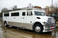 An armored car limo if you need a luxurious getaway after a heist
