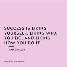 What my success looks like. It's not money, it's love.