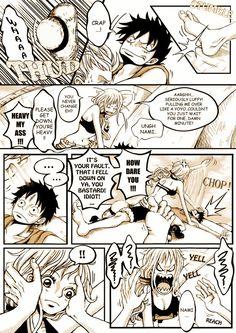 Luffy x Nami One Piece Ship, One Piece Luffy, Luffy X Nami, Natsu And Lucy, One Piece Fanart, Amaterasu, Really Cool Stuff, Anime, Geek Stuff