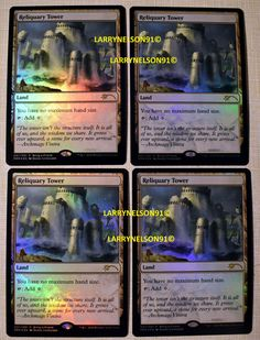 MAGIC THE GATHERING  2021 CORESET PRE-RELEASE KIT RIN AND SERI FOIL /& 4X PROMOS