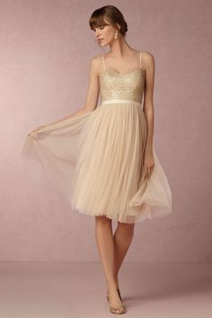 BHLDN Coppelia Dress in  Bridesmaids View All Dresses at BHLDN