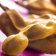 Tamarind. Sweet and sour taste, where it is common to make into jam, juices, drinks, sorbets, ice-cream and also in our cooking sauces.