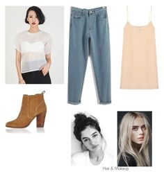 """Untitled #31"" by mohini-biyani on Polyvore featuring River Island and Raey"