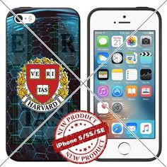 New iPhone SE Case , 5/5s TPU Case Harvard Crimson Logo C…