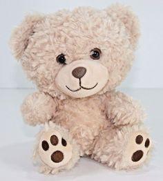 Build a Bear Smallfry Teddy Bear Plush Stuffed Animal Curly Hair Big Head #BuildaBear #AllOccasion