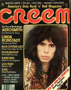 Creem December 1976 - EphemeraForever.com - used to go to White Hen and read the rock magazines all the time