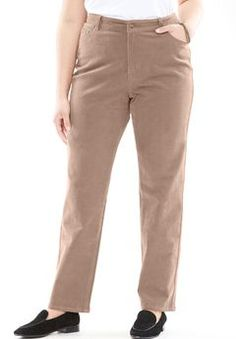 Plus Size Pants and Khakis for Women 2df291c3500
