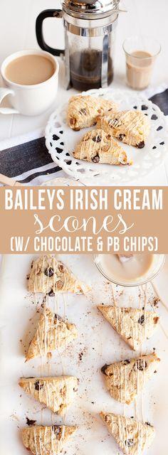 baileys irish cream scones | pretty plain janes