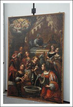 Quadro Tomaso Pombioli detto il Conciabracci 1579 1636 Antiquariato su Arsantik