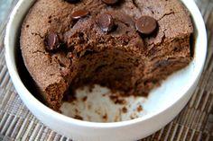 Healthy Double Chocolate Mug Cake