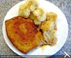Falsches Cordon Bleu Cordon Bleu, Cauliflower, French Toast, Vegetables, Breakfast, Food, Cooking, Morning Coffee, Eten
