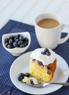 This Blueberry Lemon Pound Cake is quick and easy because it starts with a cake mix. But don't worry, no one will know!