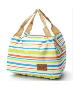 Canvas Insulated Storage Lunch Bag