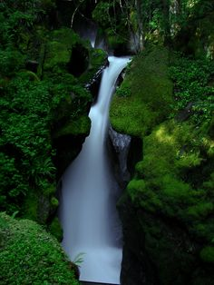 waterfall by evilke.deviantart.com on @deviantART