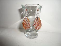Candy Rock Rhyolite Sterling Silver Dangle by MissKarensKreations.....SOLD......