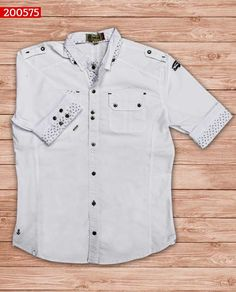 camisa-manga-corta-color-blanco-ref-200575-Mens Fashion #sexy #men #mens #fashion #neutral #casual #male #males #guy #guys #hot #hotlooks #great #style #styles #clothing