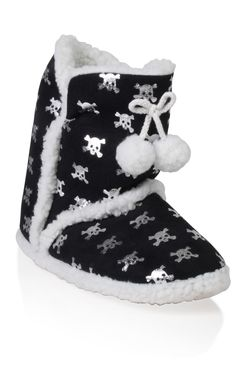Skull slipper boots. (not for kids)