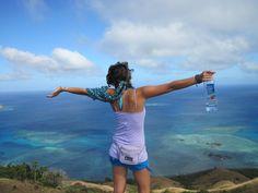 Fiji. Hiking Nacula Island