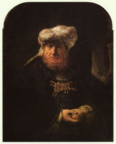 Rembrandt van Rijn - The King Uzziah Stricken with Leprosy 1635