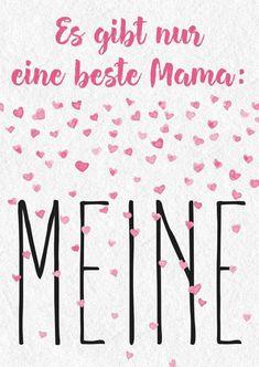 Mama Beste Muttertagskarte