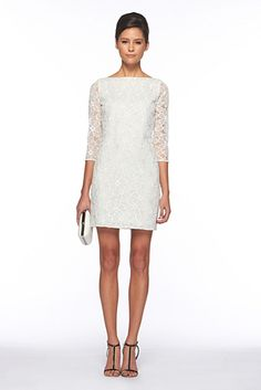 Love this.. simple, yet elegant. Maybe a rehearsal dress or shower dress