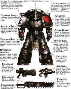 Warhammer 40k Sticker Blood Angels Space Marine