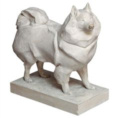 Korthals Dog Sculpture | From a unique collection of antique and modern sculptures at http://www.1stdibs.com/furniture/more-furniture-collectibles/sculptures/