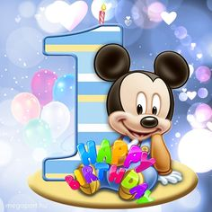 Share Pictures, Animated Gifs, Mickey Mouse, Happy Birthday, Disney Characters, Watch, Nails, Ideas, Happy Birthday Songs