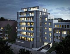 """Neubau von 19 Eigentumswohnungen im Neubauprojekt """"SKYLOFTS.Hamburg"""" in Hamburg-Wandsbek. Foto: Grossmann & Berger Hamburg"""