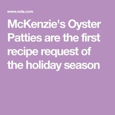 McKenzie's Oyster Pa