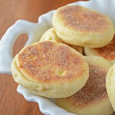 Bread Machine English Muffins - Am tired of paying $4 a package. This is a bread machine recipe.