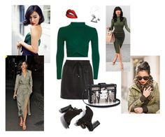"""""""Styling Red Lips #2"""" by alvinaginting on Polyvore featuring Sephora Collection and Topshop"""
