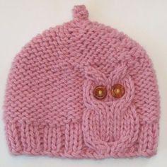 Baby owl hat!: