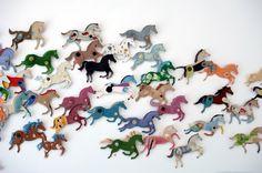 Ann Wood DIY cardboard horses