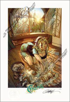 Cinderella campbell disney j scott