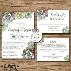 Wedding Invitation Suite Response Card Details Monogram