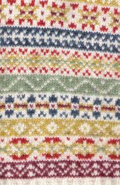 Fair Isle pattern