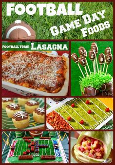 Everyone needs a good resource of Football foods to serve and have fun with for all your favorite games! Check out these 10.   NOTE: If...