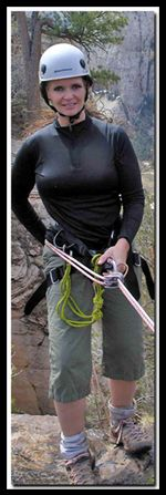 Tanya Milligan in Zion National Park Hikes and Slot Canyons in and around Zion's level of difficulty