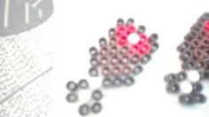 Minecraft full hunger bar perler beads