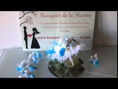 Bouquets de la mariée, décoration de voitures et tables de mariage Decoration, Marie, Christmas Bulbs, Holiday Decor, Bouquets, Tables, Home Decor, Bunch Of Flowers, Wedding Bouquet
