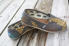 hand painted TOMS.