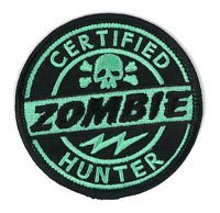 Certified Zombie Hunter Iron-On Patch Outbreak Response Team The Walking Dead