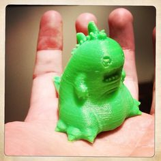 Something we liked from Instagram! My 3d printer came in so I had to make something for it. @razzleberrie 's brother calls it Blobzilla so I think I'll go with that #Godzilla #kaiju #monster #3dprint #imadethis #3dprinter #cute #chibi by skulltupidesign check us out: http://bit.ly/1KyLetq