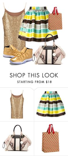 """""""Untitled #197"""" by sara-bitch1 ❤ liked on Polyvore featuring MSGM and GUESS"""