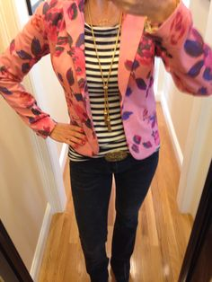 O.O.T.D... CAbi Spring '14 Rose Garden Jacket, Fall '13 Baby Boot, Signature Belt, Spring '12 Playtime Tee and Simple Cami www.nancydowning-schloss.cabionline.com Florals are everywhere this Spring! Update your look with our fabulous Rose Garden Jacket!