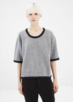 Marni Short Sleeve Sweater (Graphite)
