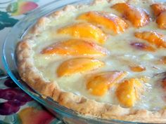 Mom's Peaches and Cream Pie--I've been trying to re-create my Mom's Peaches and Cream pie for years. It is one of the best pies you've ever tasted with sweet peaches…